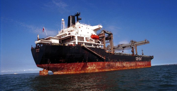 Supertanker on Maracaibo lake in Venezuela, Jan 2005. photo by Serge Attal/Flash90 ***Agencies OUT***  *** Local Caption *** ??? ??????? ???????? ????? ????? ?? ???? ?????  ?????? ??????