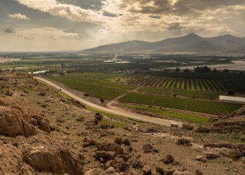 Landscape views of the Jordan Valley. February 02, 2020. Photo by Yaniv Nadav/FLASH90 *** Local Caption *** ???? ?????