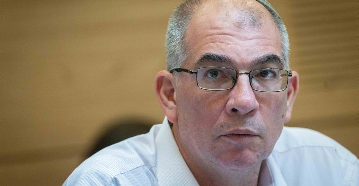 MK Nir Orbach attends an Arrangements Committee meeting at the Knesset, the Israeli parliament in Jerusalem, on June 21, 2021. Photo by Yonatan Sindel/Flash90 *** Local Caption *** ???? ????? ?????? ????? ????? ???? ?????? ??? ?????