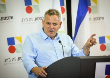 Minister of Health Nitzan Horowitz speaks during his visit at the Wolfson Medical Center in Holon, September 26, 2021. Photo by Avi Dishi/Flash90 *** Local Caption *** ??????? ????? ????? ???????? ????? ????? ???????? ???? ??????? ?????? ????? ?????