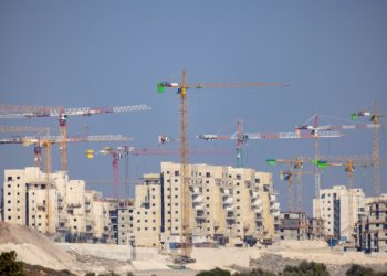 View of a costruction sitein the central Israeli town of Bet Shemesh on September 05, 2021. Photo by Nati Shohat/Flash90 *** Local Caption *** ??? ??? ???? ??? ???? ??? ????? ?????? ?????